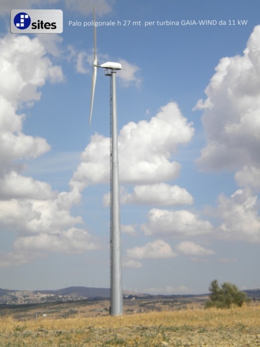 Torri per turbine eoliche Bari