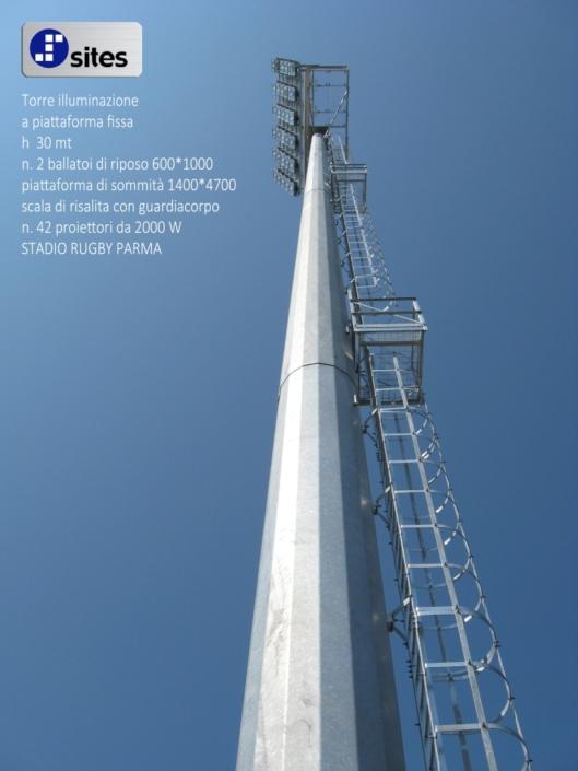 torre illuminazione