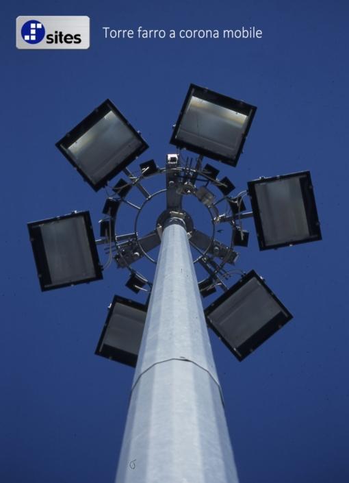 torre faro a corona mobile